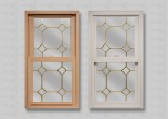 wp lang exterior powerweld 1600 double hung bleached oak woodgrain white brass diamond grids