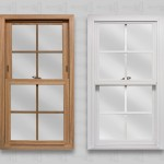 wp lang exterior powerweld 1600 series double hung light oak white colonial flat grids