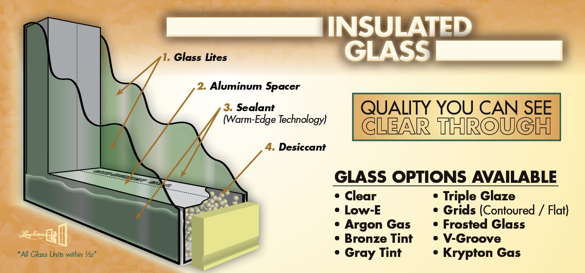 Glazed Insulated Units : Insulated glass units by lang exterior inc ™