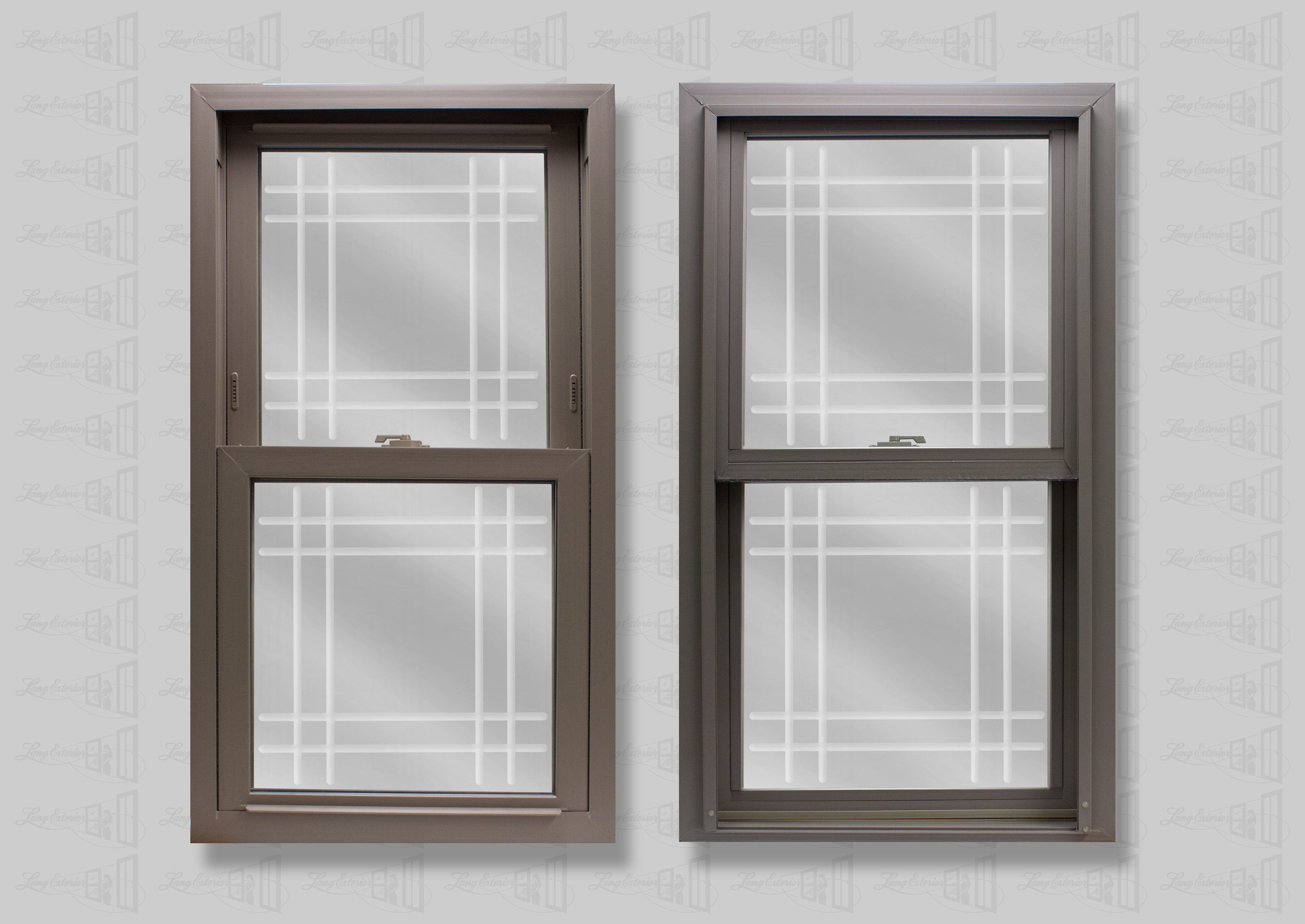 lang exterior clay powerweld double hung double prarie v-groove