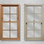 lang exterior powerweld double hung light oak beige colonial grids