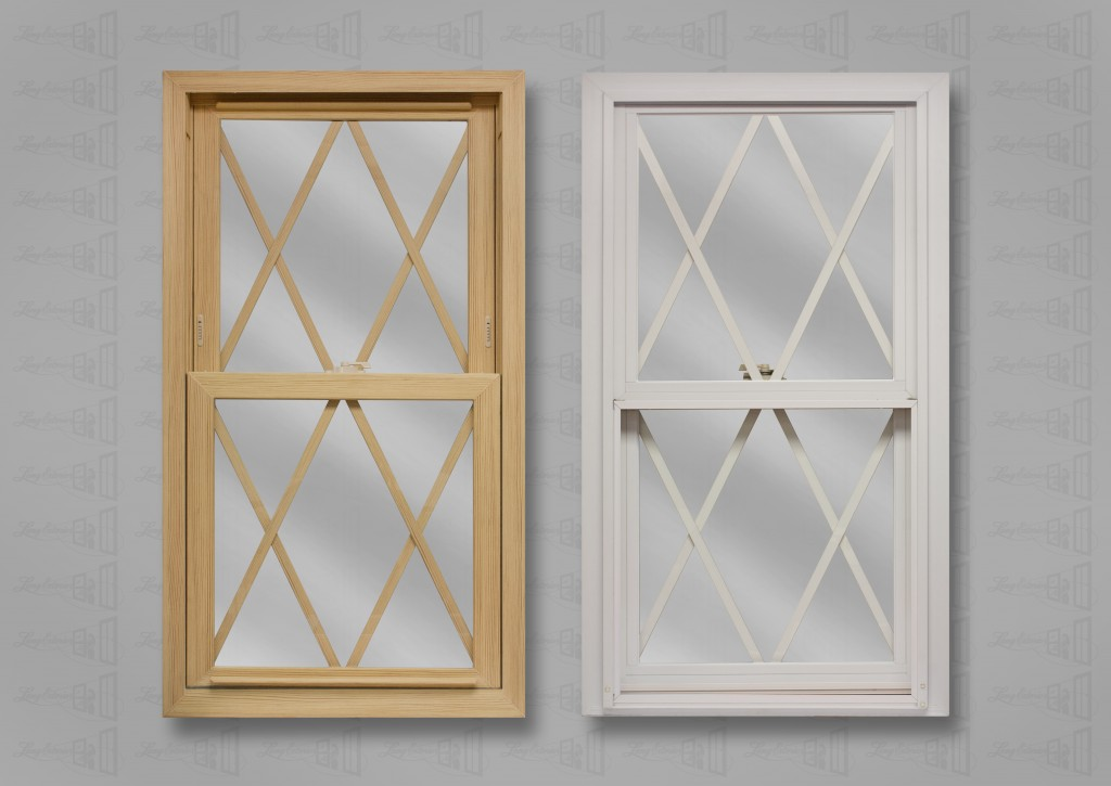 wp lang exterior powerweld stainable pine white double hung flat diamond grids