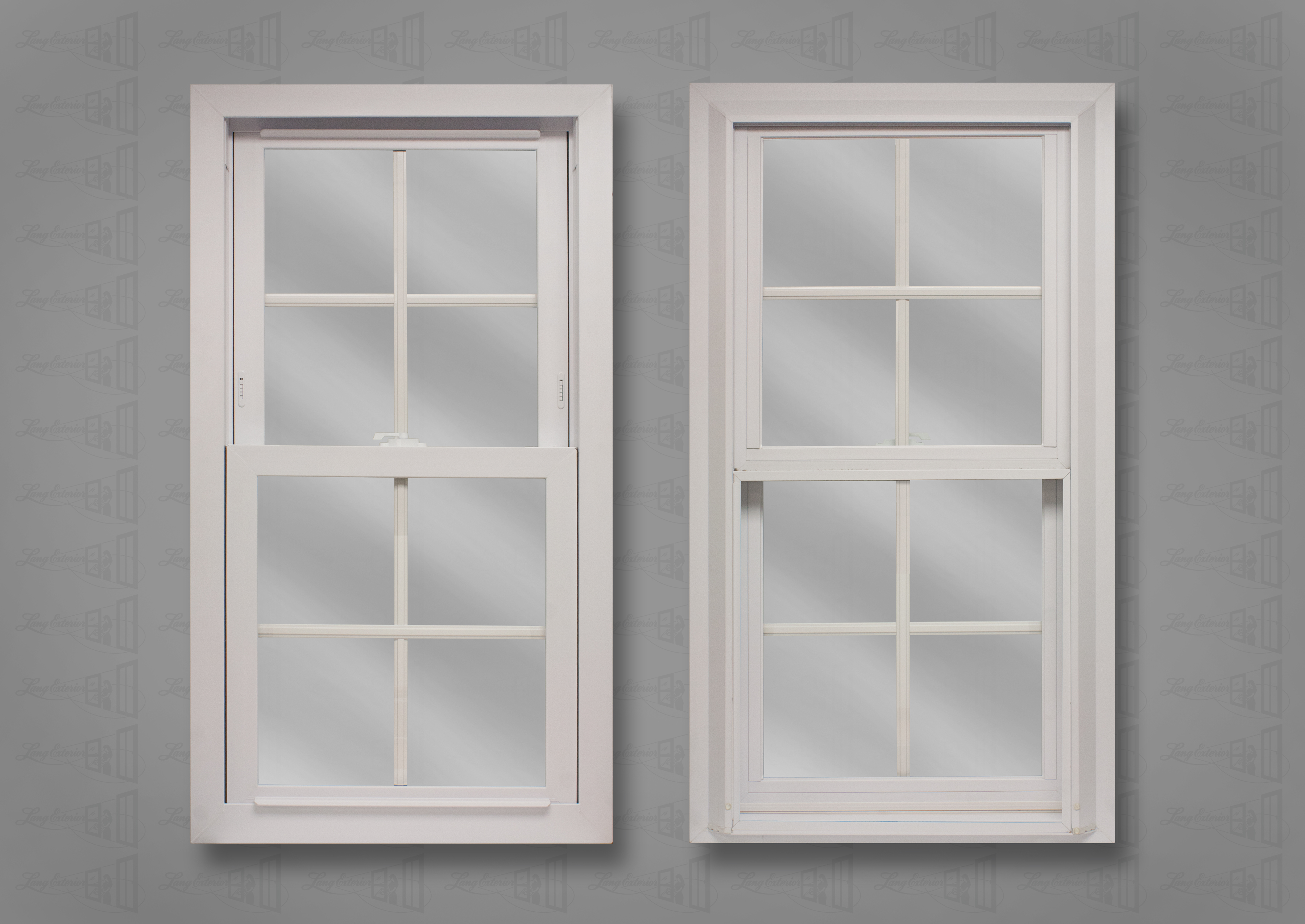 platinum 2400 series double hung window