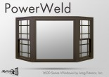 Lang Bay PowerWeld Double Hung Picture Window Unit