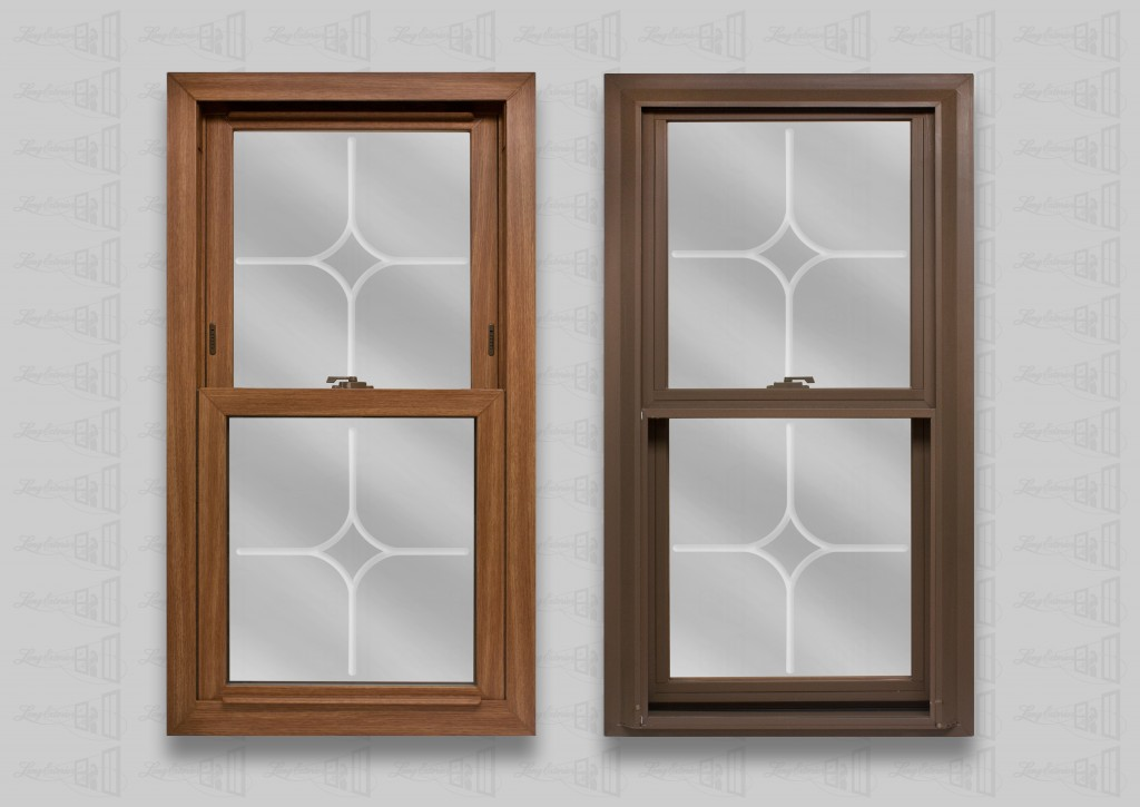 wp lang exterior platinum double hung dark oak cocoa marquise v groove glass