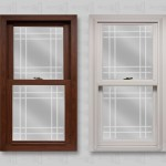 wp lang exterior platinum 2400 cherry oak white double hung double prarie v-groove glass